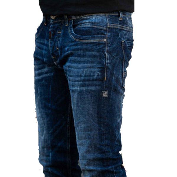 Profil 9000 Ανδρικό Παντελόνι Τζίν Μπλέ 5