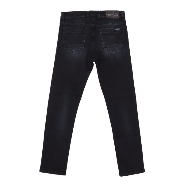 Cabell 318-F Ανδρικό Παντελόνι Τζίν Μπλέ Σκούρο 5