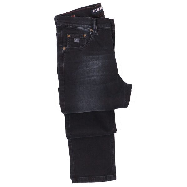 Cabell 318-F Ανδρικό Παντελόνι Τζίν Μπλέ Σκούρο 4