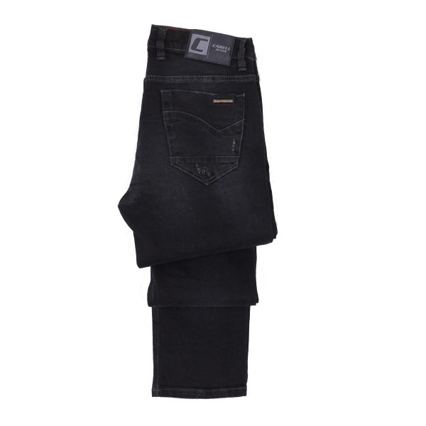 Cabell 332-10D Ανδρικό Παντελόνι Τζίν Μπλέ Σκούρο 5