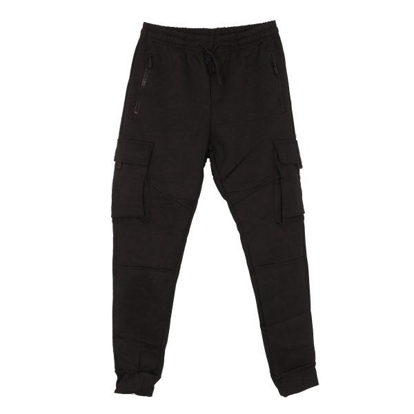 Privato R-033BA Ανδρικό Σέτ Φόρμας Μπλούζα-Παντελόνι Μαύρο 6