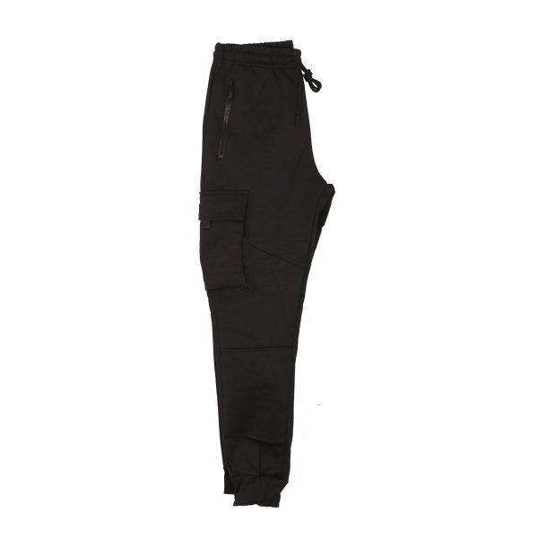 Privato R-033BA Ανδρικό Σέτ Φόρμας Μπλούζα-Παντελόνι Μαύρο 4