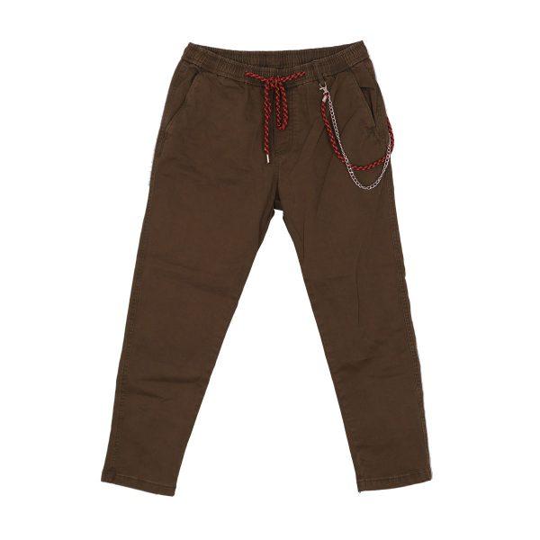 Privato BP0030 Ανδρικό Παντελόνι Αστραγάλου Λαδί 3
