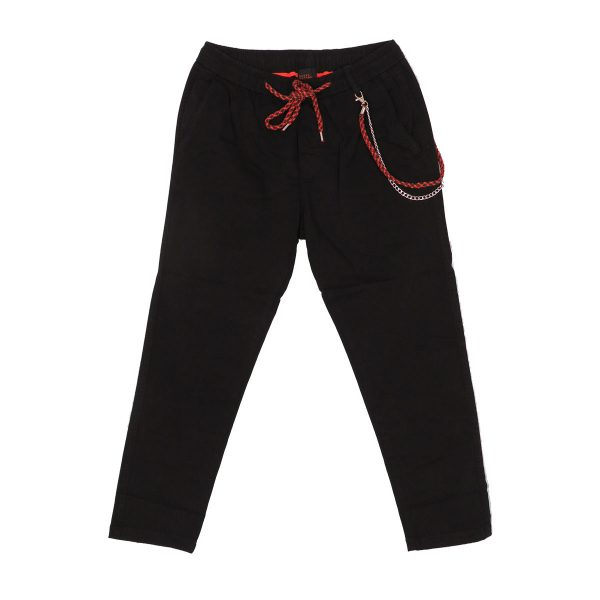 Privato BP0030 Ανδρικό Παντελόνι Αστραγάλου Μαύρο 3