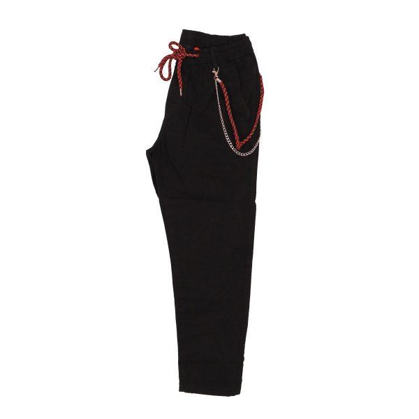 Privato BP0030 Ανδρικό Παντελόνι Αστραγάλου Μαύρο 5