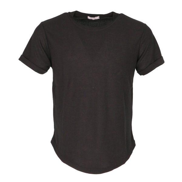 Privato 7241 Ανδρικό Βραδινό Μπλουζάκι Μαύρο 3
