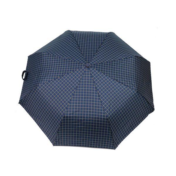 PRIVATO OY03-YS2-1 Ομπρέλα Με Αυτόματο Άνοιγμα καρώ μπλε 3