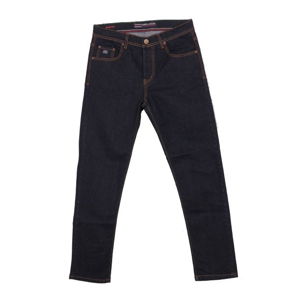 CABELL 320 Ανδρικό Παντελόνι Τζίν Μπλέ Σκούρο 3