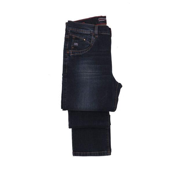 CABELL 337-1F Ανδρικό Παντελόνι Τζίν Μπλέ 4