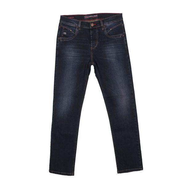 CABELL 337-1F Ανδρικό Παντελόνι Τζίν Μπλέ 3