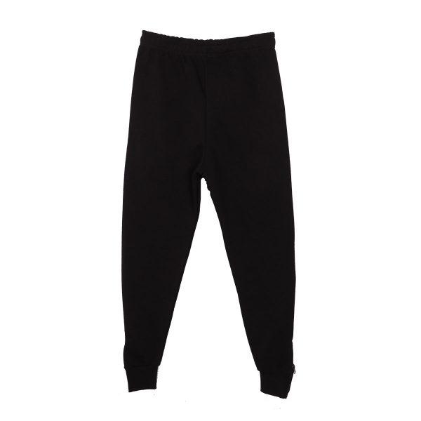Cotton 4all 22-366 Ανδρικό Παντελόνι Φόρμας Φούτερ Μαύρο 5