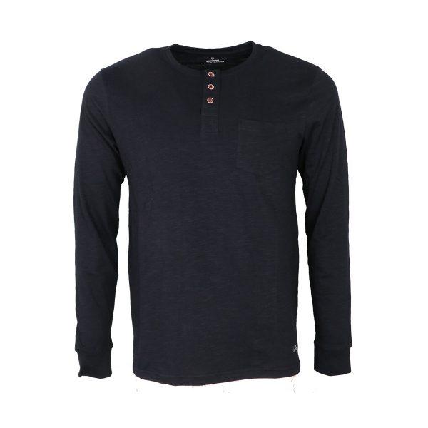 Tiffosi 10004878-790 Ανδρική Μπλούζα Μπλέ Σκούρα 3