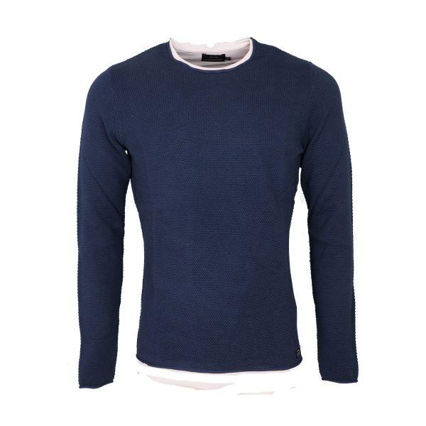 Tiffosi 10038837-750 Ανδρικό Μπλουζάκι Μπλέ Ράφ 3
