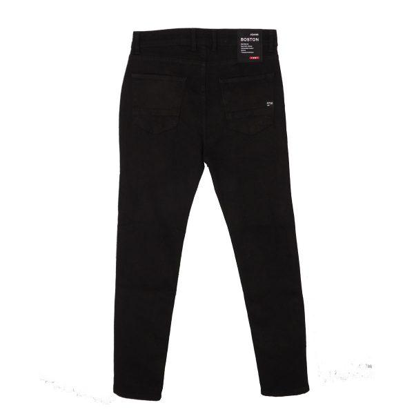BOSTON 2121801 Ανδρικό παντελόνι Τζίν Μαύρο 5