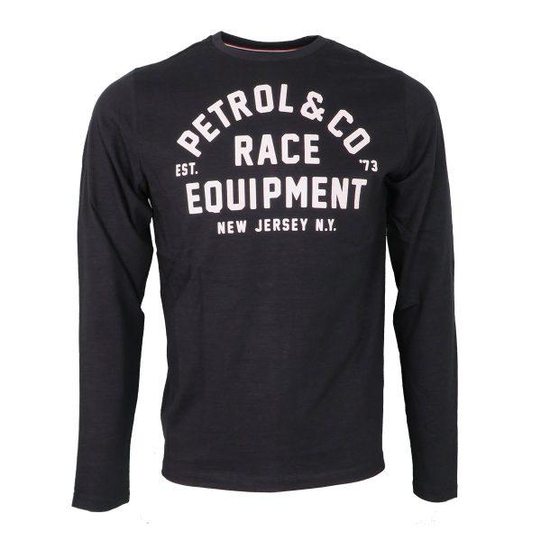 Petrol M3010-TLR616 5110 Ανδρική Μπλούζα Με Στάμπα Γκρί Ασφάλτου 3